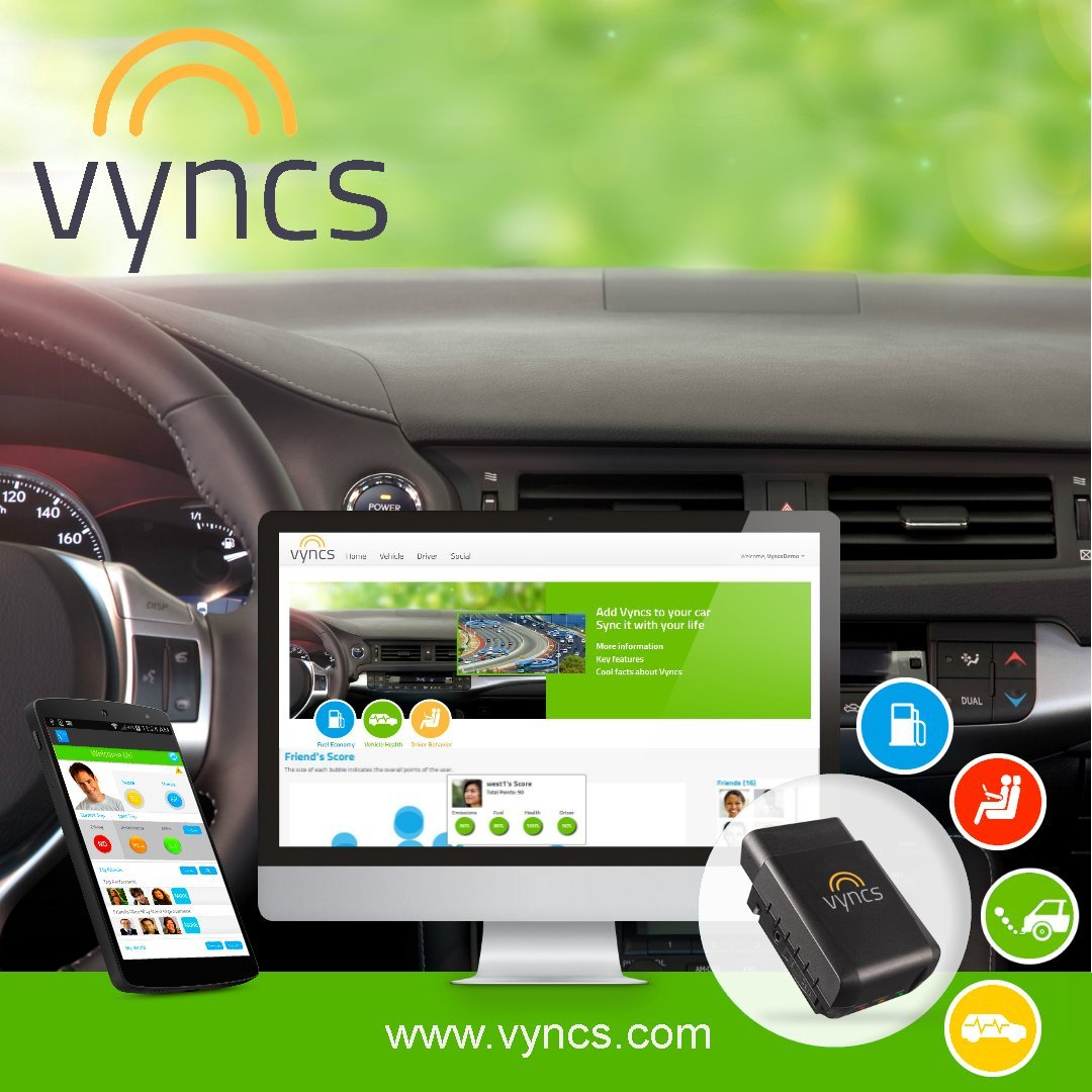 VYNCS Premium: No Monthly Fees GPS Tracker OBD 3G Vehicle GPS Tracking, Teen Driver Safety VPOBDGPS1 by VYNCSPremium (Image #3)