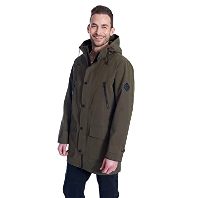 Alpine North Men's Drawstring Raincoat at Men's Clothing store