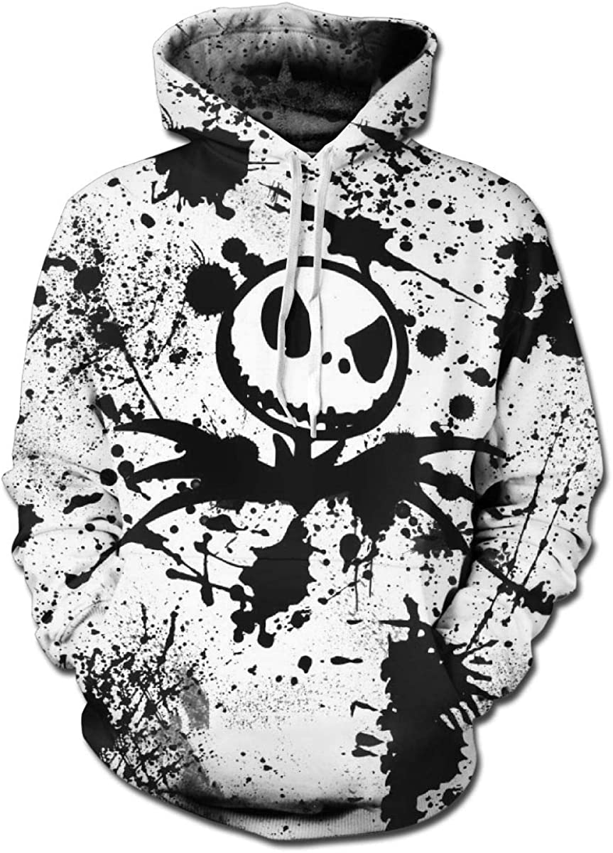 Crystal1QooIIIXX Nightmare Before Christmas Hoodie Sweatshirts T-Shirt for Mens and Womens 3D Printed