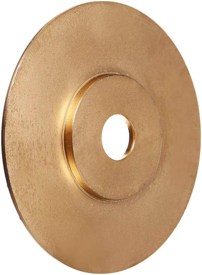 Ctghgyiki Golden Wood Grinding Wheel Rotary Disc Sanding Wood Carving Abrasive Disc 100x16mm Woodworking Tools