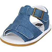 Fossen Verano Zapatos Bebe Niño con Suela Dura Caucho Sandalias de Antideslizante Zapatillas