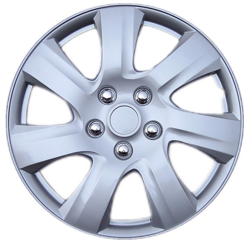 Drive Accessories KT-1021-16S/L, Toyota Camry, 16' Silver Replica Wheel Cover, (Set of 4) 16 Silver Replica Wheel Cover AutoSmart KT1021-16S/L