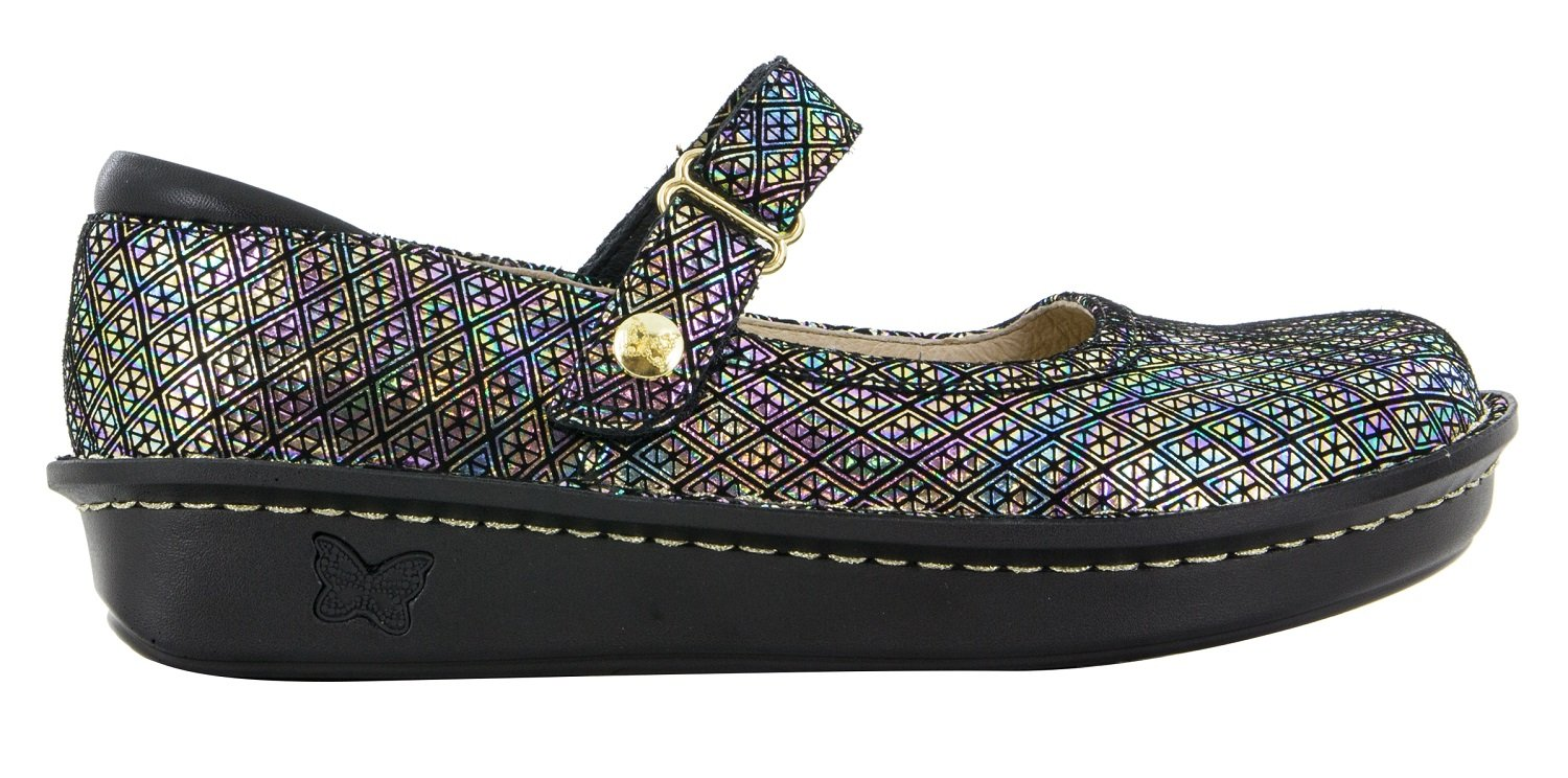 Alegria Women's Belle Regular Mary Jane Flat B075HZ6TPL 35 Regular Belle EU|Diamonds Forever eaa00b