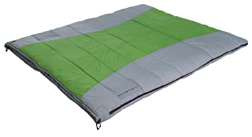 Alpes alpinismo Twin Plus 20 grados rectangular saco de dormir