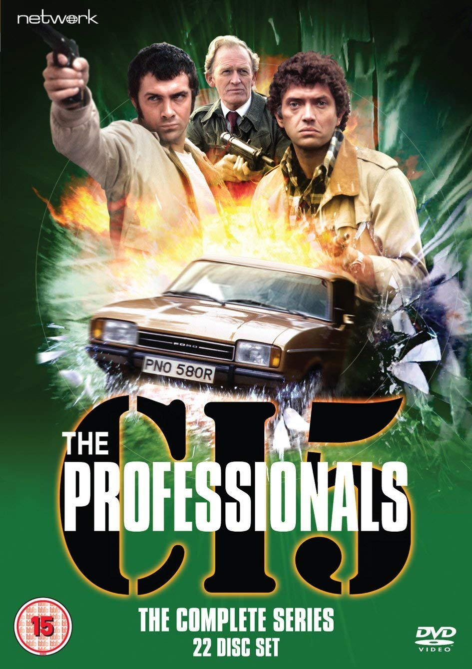 The Professionals The Complete Series Dvd Uk Import Amazon De