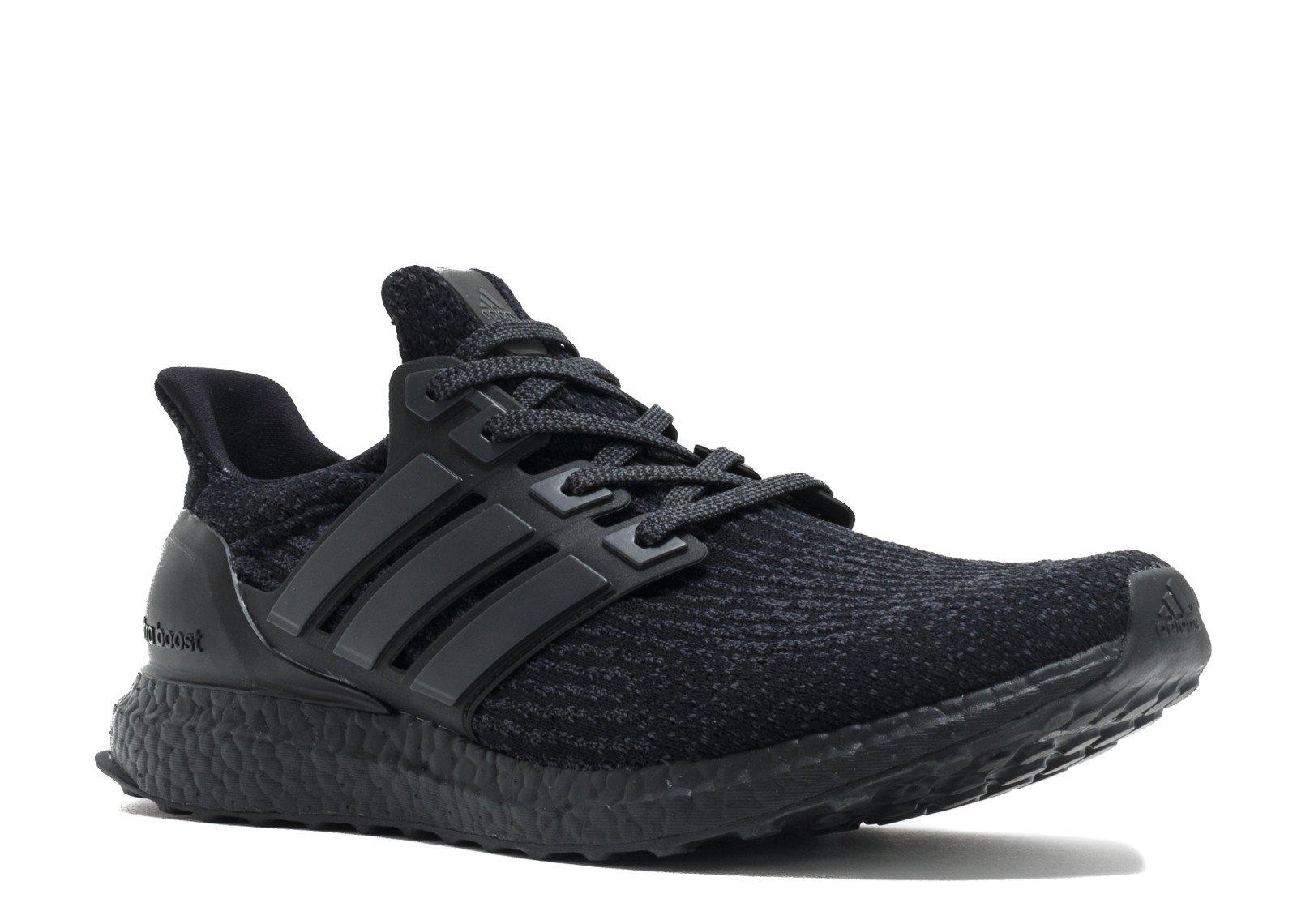 f637ad26cf5 Galleon - Adidas Ultra Boost  Triple Black  - BA8920 - Size 9