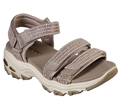 Amazon.com | Skechers Womens DLites-Pretty Things-Pearl ...