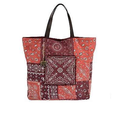 ANOKHI Shopper Shakur Handtasche Damen Rot: