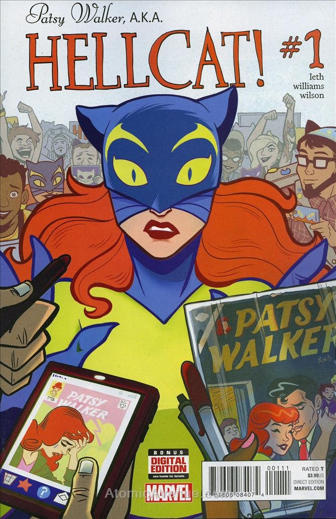 Patsy Walker, A.K.A. Hellcat! #1 VF/NM ; Marvel comic book