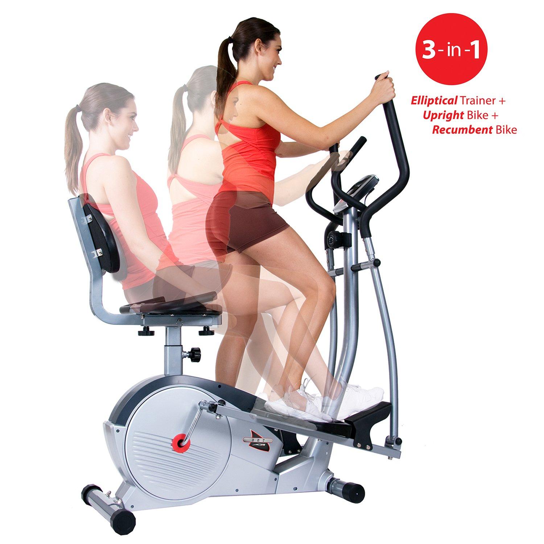 Body Flex Sports Máquina de entrenamiento 3 en 1: Amazon.es ...