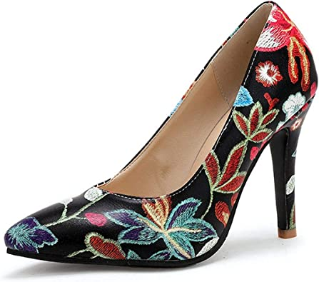 Women/'s Shoes Pointed Toe Pumps Dress Shoes Ladies Wedding Party High Heels Boat