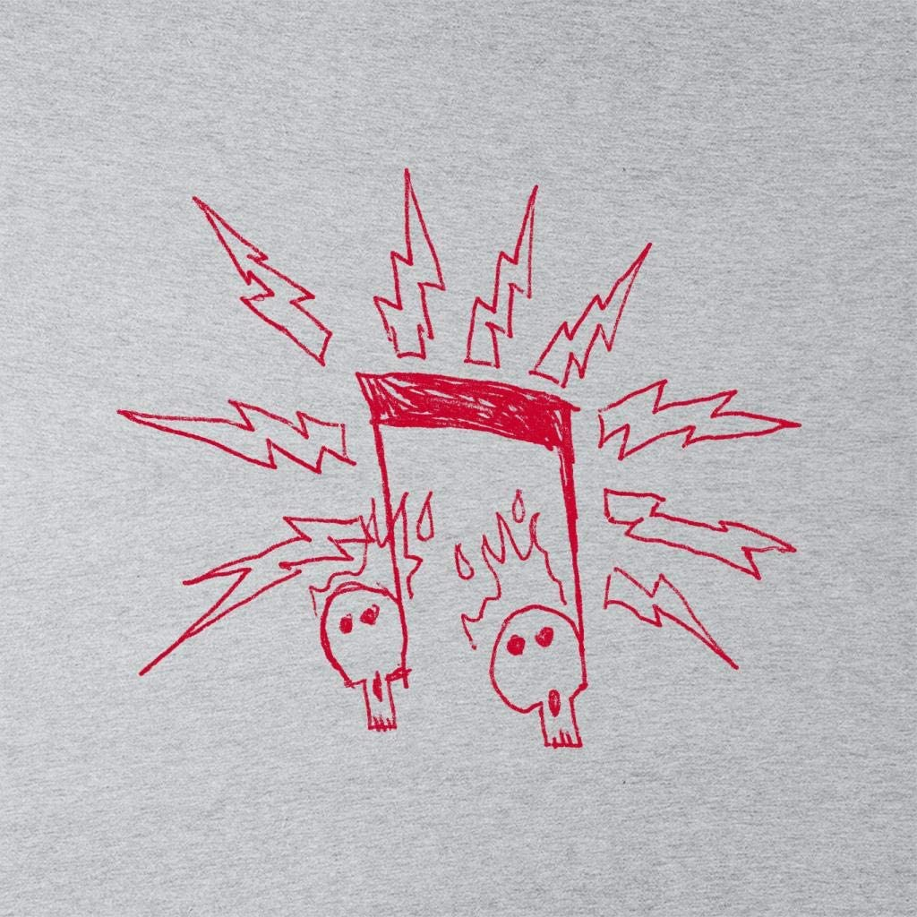 Zits Red Electric Notes Kids T-Shirt