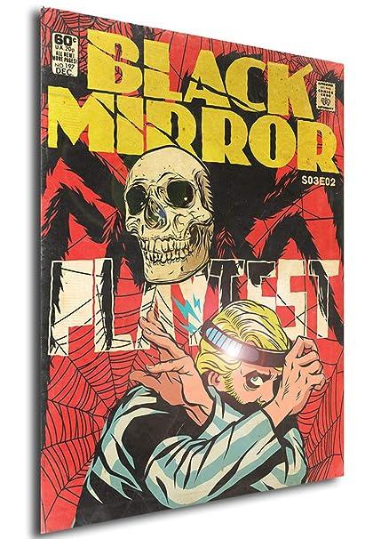 Poster Black Mirror Vintage 10 42x30 cm Formato