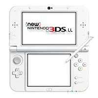 New Nintendo 3DS LL Pearl White (Japanese Imported Version - only plays Japanese version games)