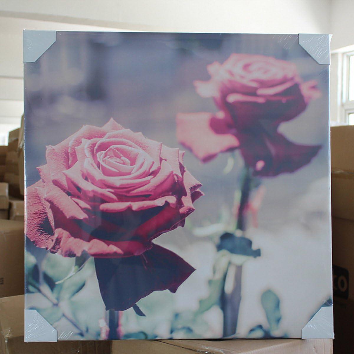 Tela dArtista Rettangolare per Pittura ad Olio Cornice di Tela per Dipingere 15x15cm KINGSO Tele per Dipinto Pittura con Cornice in Legno