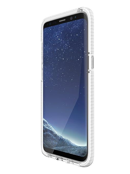 Amazon.com: Tech21 Evo carcasa para Galaxy S8 – transparente ...