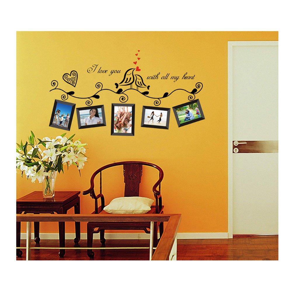Amazon.com: Gorgeous Adhesive Rooms Walls Vinyl DIY Stickers ...