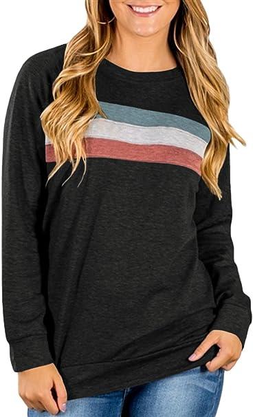 Women Crew Neck Camo Camouflage T-shirt Sweatshirt Ladies Long Sleeve Top Blouse