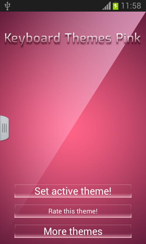 Temas de teclado rosa