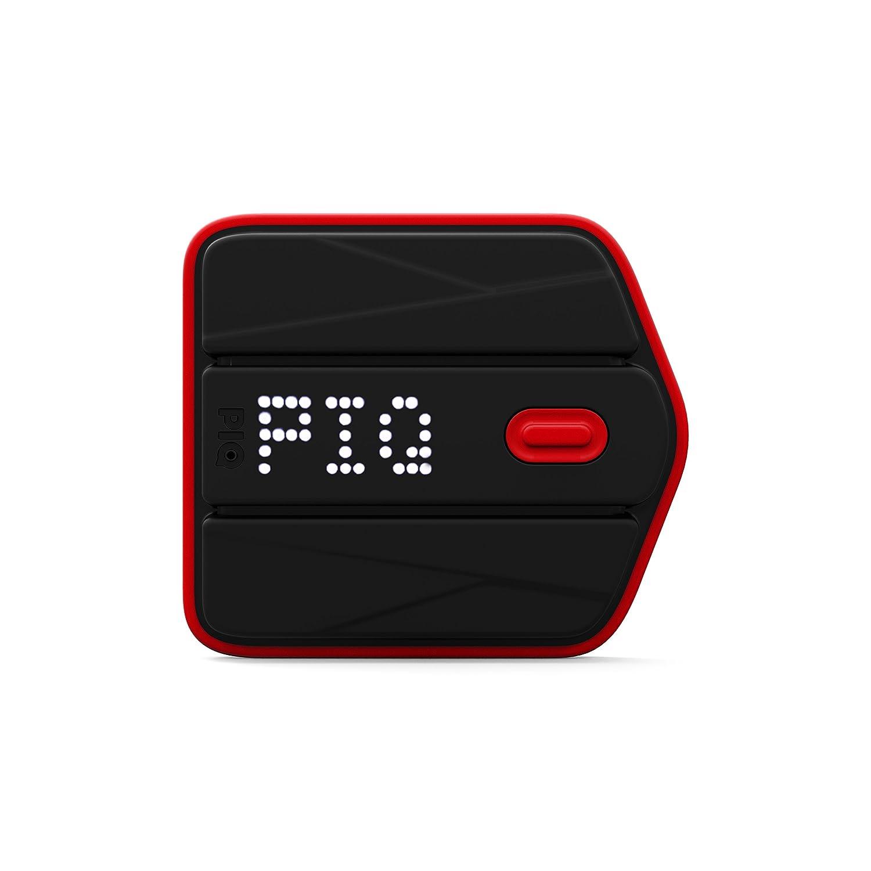 PIQ inp302, Sensor für Ski Unisex–Erwachsene, schwarz, M