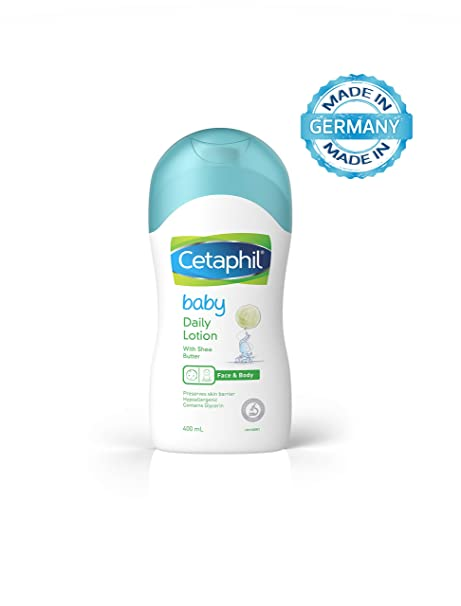 Cetaphil Baby Daily Lotion, 400 ml Baby Lotions at amazon