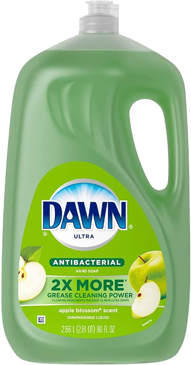 Dawn Ultra Antibacterial Apple blossom Dishwashing liquid Hand Soap 90 FL OZ