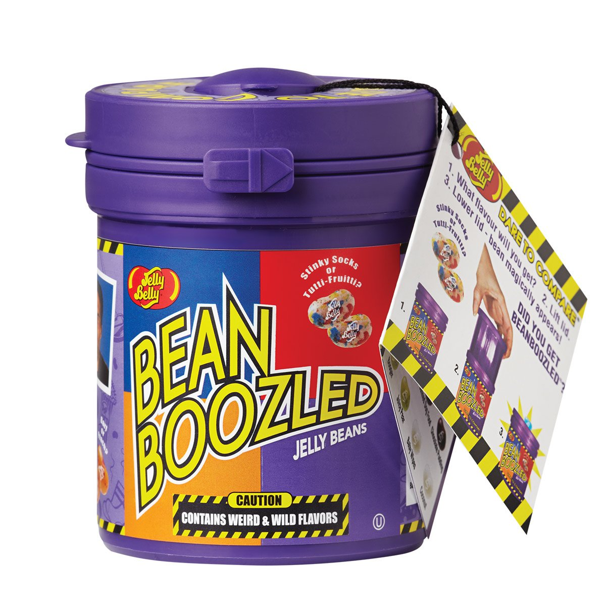 Jelly Belly BeanBoozled Mystery Bean Jelly Bean Dispenser, 4th Edition, Assorted Flavors, 3.5-oz by Jelly Belly (Image #1)