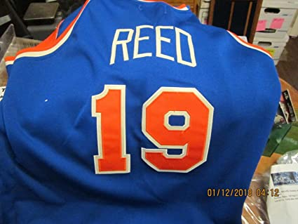 huge selection of 06bfc 21daa 1980 Willis Reed Team Issued New York Knicks Jersey at ...