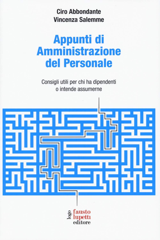 Amazon.it: Appunti di amministrazione del personale