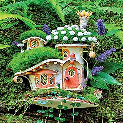 Fairy Houses - Victorian Mossy Cottage Puzzle - 300 Pieces