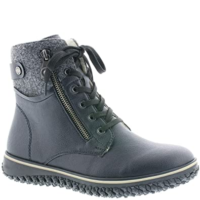 Rieker Women Kazan Boot Granit  Amazon.co.uk  Shoes   Bags 0a904f1179