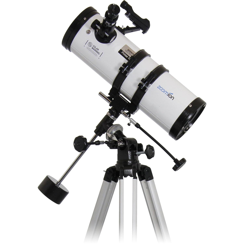 Zoomion Telescopio Philae 114 EQ, cannocchiale astronomico con Apertura 114 mm e Lunghezza focale 500 mm