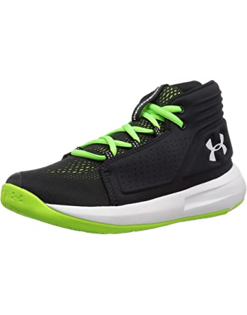 af650fb158e Under Armour Boys' Pre School Torch Mid Basketball Shoe, Black (001)/
