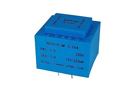 yhdc pe3515-m Potencia de salida 3,5 va entrada 230 V salida 12