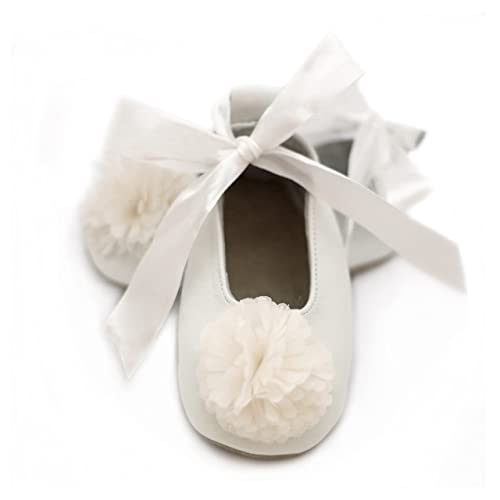 7e7f843fafb4a Elk Kids Baby Ballet Shoes, Flower Girl Shoes (Baby/Toddler)