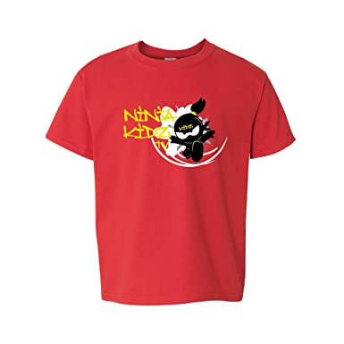 Ninja Kidz Kids T-Shirt Ninja Kids Ninja Kidz T-shirt for Girls and Boys