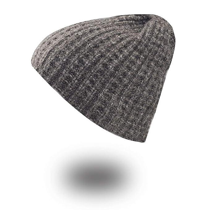 Winter Woman Hand Knitted Wool Caps Mask Bonnet Warm Baggy Winter Hats for Men  Women at Amazon Women s Clothing store  8d84b1e6e6ca
