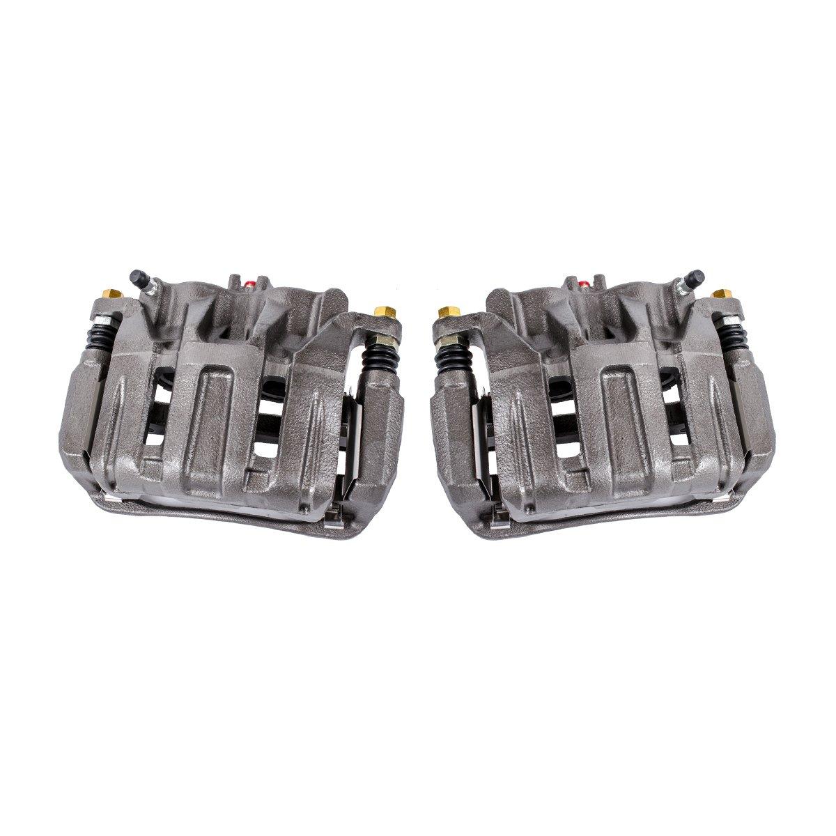 Callahan CCK04264 Hardware Brake Kit REAR Premium Semi-Loaded Original Caliper Pair 2