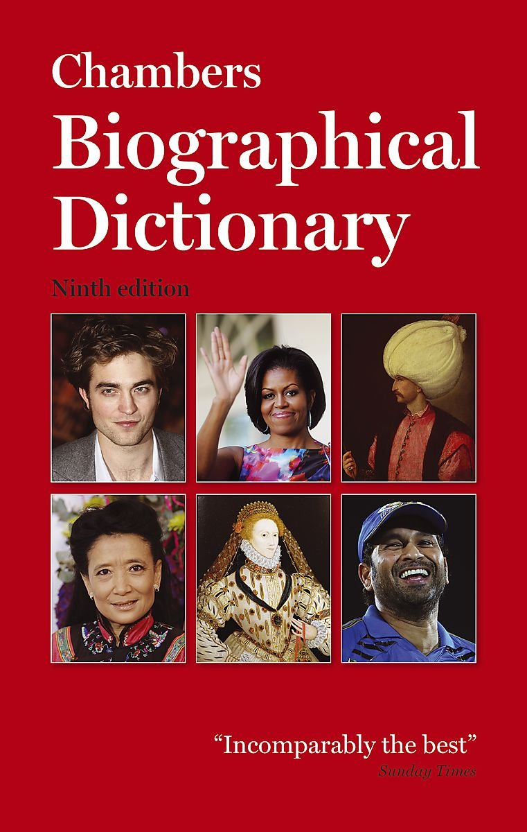 Read Online Chambers Biographical Dictionary Paperback PDF