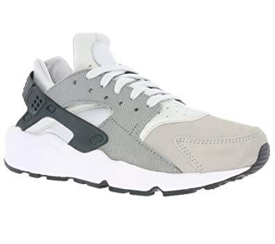 wholesale dealer 35c94 e4d1c NIKE Air Huarache Women s Running Shoes Pure Platinum Clear Grey Matte  Silver 683818-