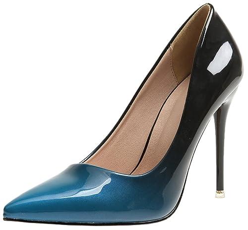 Pointed Toe Zapatos de tacón De BIGTREE Mujer Tacones altos Vestir Zapatos de tacón Gradientes Stiletto Zapatos: Amazon.es: Zapatos y complementos