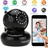 Wanscam Webcam CCTV WIFI Réseau Pan/Tilt IP Caméra Sans Fil IR Nocturne P2P Intérieur