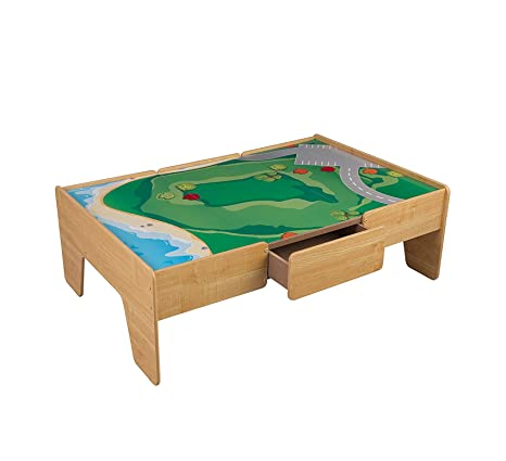 Pleasant Amazon Com Wood Style Home Play Table Train Table Office Creativecarmelina Interior Chair Design Creativecarmelinacom