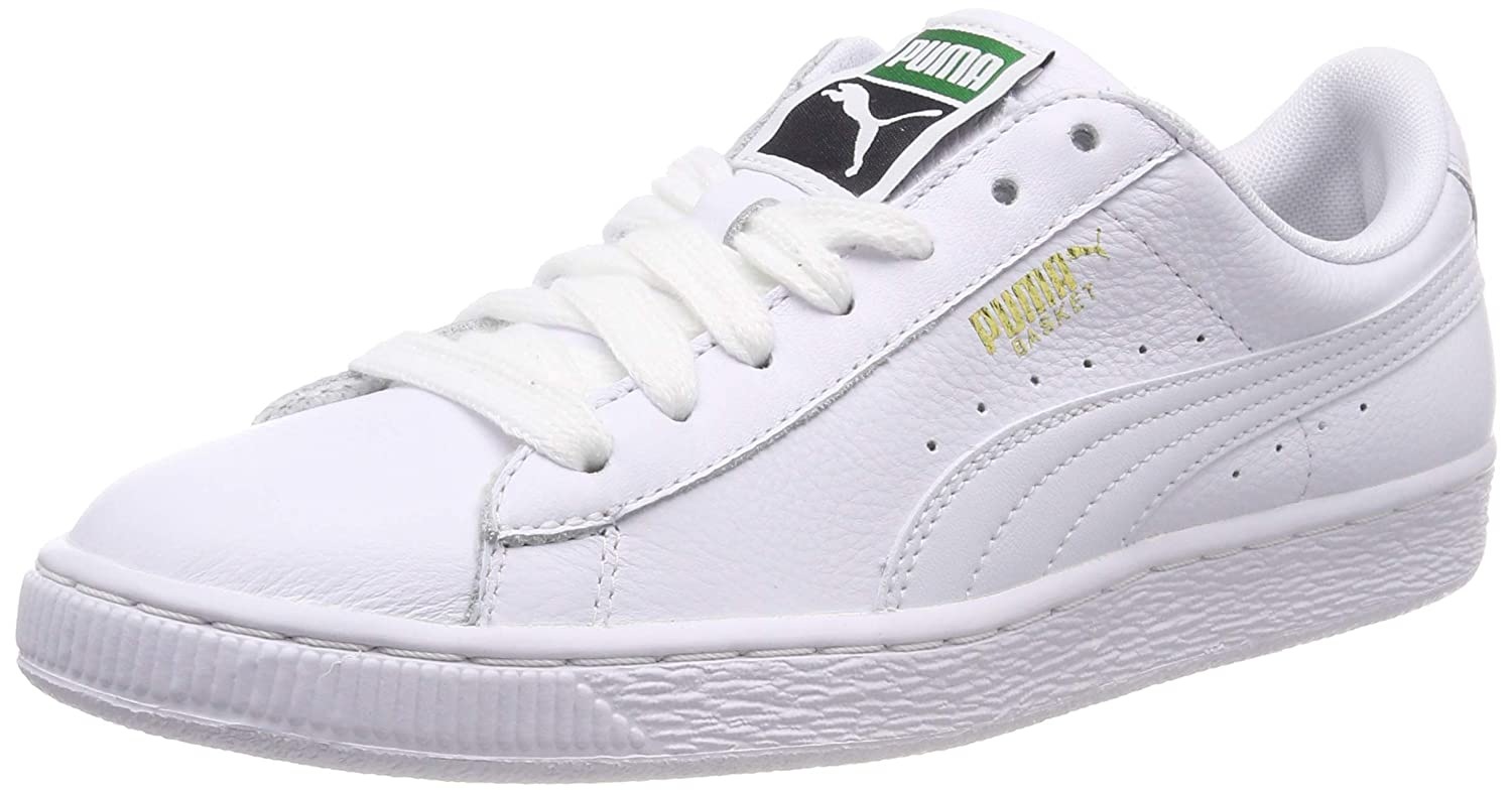 dae1b772be1 Puma Men s Basket Classic LFS Leather Sneakers  Buy Online at Low Prices in  India - Amazon.in