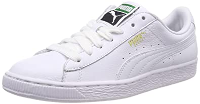 10f76d02a839f7 Puma Men's Basket Classic LFS Leather Sneakers: Buy Online at Low ...