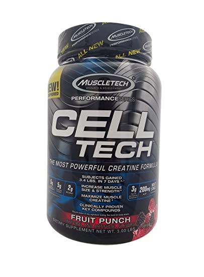 Muscletech - Cell Tech Performance Series - 1,40 kg - Ponche de Frutas