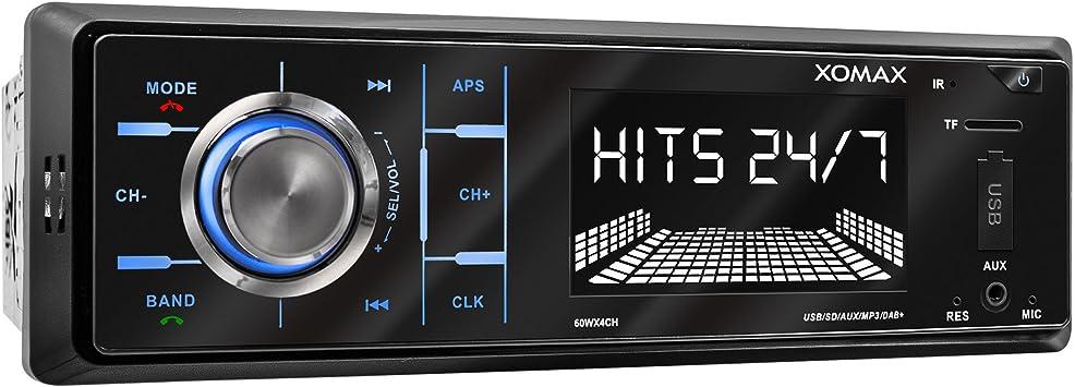 Xomax Xm Rd263 Autoradio Mit Integriertem Dab Tuner Elektronik