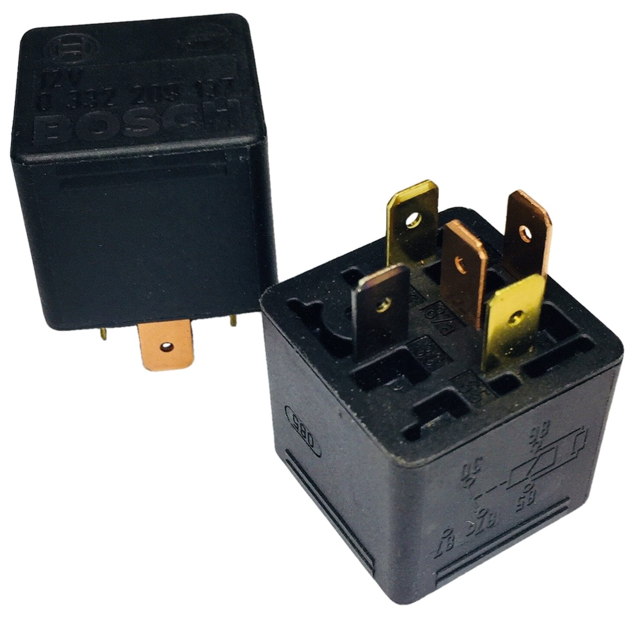Bosch 12v Main Current Relay 0 332 209 137 Car Electronics Nais 12 Volt