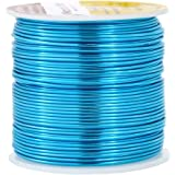 Mandala Crafts Anodized Aluminum Wire for Sculpting, Armature, Jewelry Making, Gem Metal Wrap, Garden, Colored and Soft…