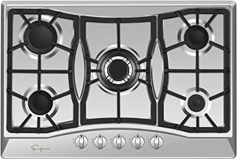 Amazon.com: Empava EMPV-30GC0A5 - Quemadores de cocina de ...